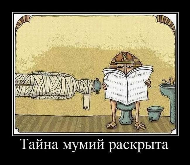 Тайна мумий раскрыта