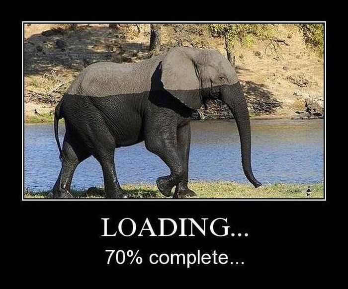 Loading 70% complete.