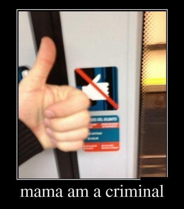 Mama am a criminal