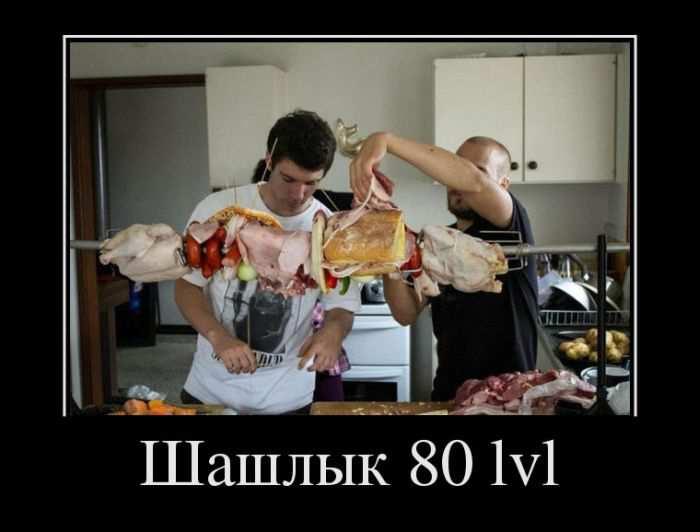 Шашлык 80 lvl