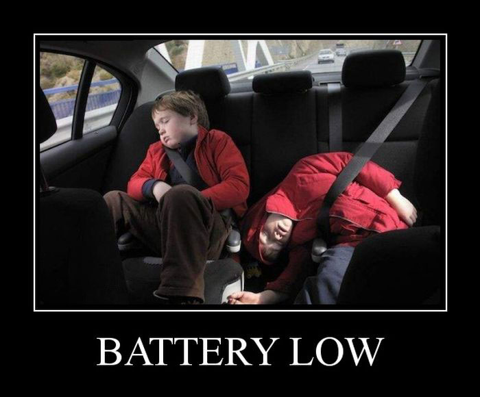 Battery low