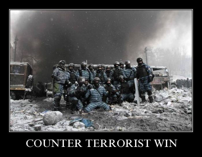 Counter terrorist win